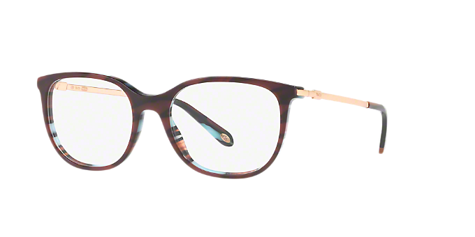 5a8726b10e6 TF2149  Shop Tiffany Red Burgundy Square Eyeglasses at LensCrafters