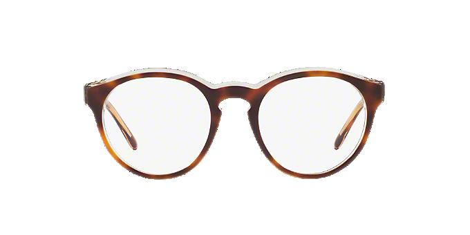 PH2175: Shop Polo Ralph Lauren Tortoise Round Eyeglasses at LensCrafters