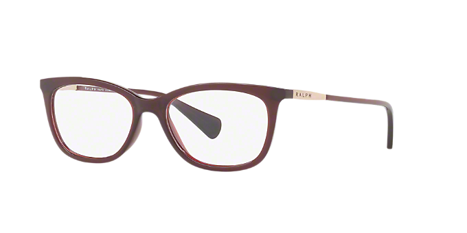 b8f8b854b89 RA7085  Shop Ralph Red Burgundy Pillow Eyeglasses at LensCrafters