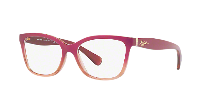RA7088: Shop Ralph Pink/Purple Pillow Eyeglasses at LensCrafters