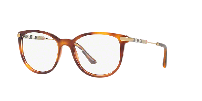 39ac19738ed BE2255Q  Shop Burberry Tortoise Square Eyeglasses at LensCrafters