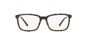 89c9f86d01f BE1315  Shop Burberry Black Rectangle Eyeglasses at LensCrafters