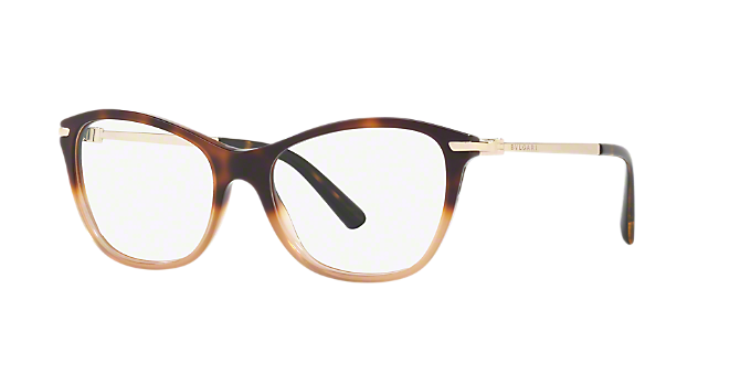 6bb901f6c8 BV4147  Shop Bulgari Tortoise Rectangle Eyeglasses at LensCrafters