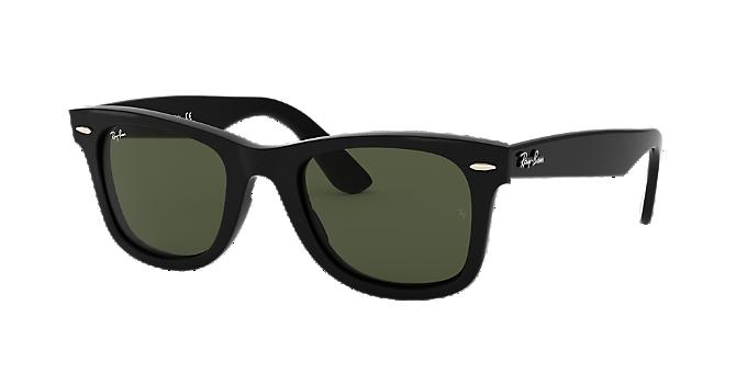 4f26930a05a6 RB4340 50 WAYFARER EASE: Shop Ray-Ban Black Square Sunglasses at ...