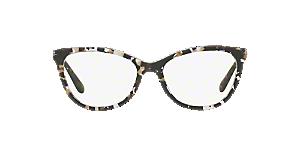 e87240511c REF ARTICLE 010510  Shop Dolce   Gabbana Black Eyeglasses at ...