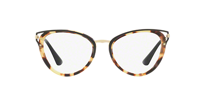 ed2d0e9afe PR 53UV  Shop Prada Tortoise Cat Eye Eyeglasses at LensCrafters