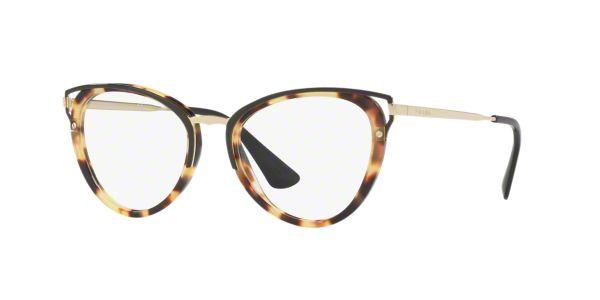 93dc07878a PR 53UV  Shop Prada Tortoise Cat Eye Eyeglasses at LensCrafters
