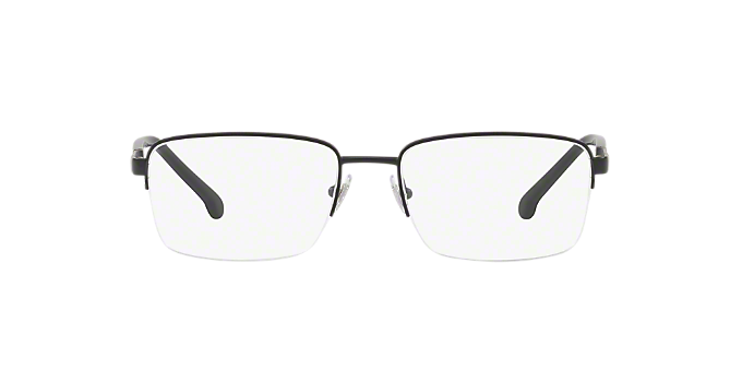 Bb1044 Shop Brooks Brothers Black Rectangle Eyeglasses At