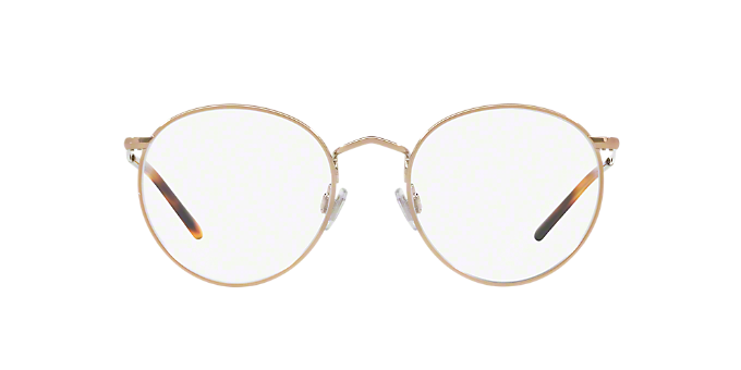 270f620ca0 PH1179  Shop Polo Ralph Lauren Gold Panthos Eyeglasses at LensCrafters