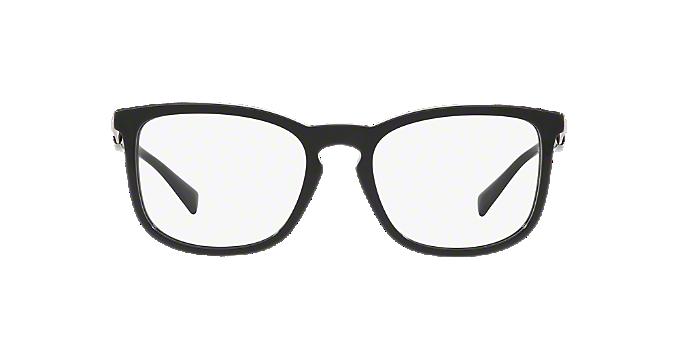 VE3252: Shop Versace Black Pillow Eyeglasses at LensCrafters