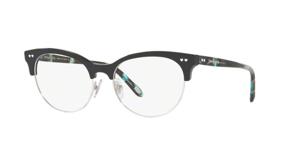d72a4bc2703 TF2156  Shop Tiffany Black Oval Eyeglasses at LensCrafters