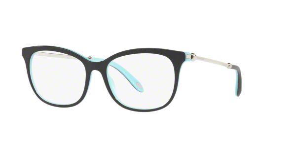 406dea83c09 TF2157  Shop Tiffany Black Square Eyeglasses at LensCrafters