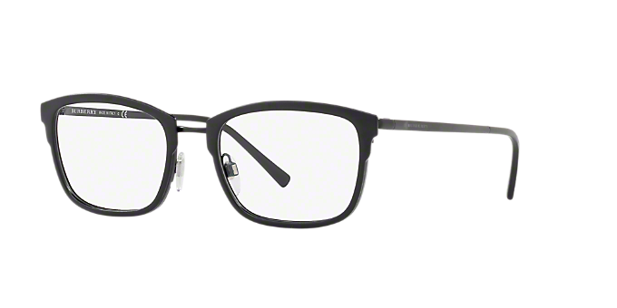 BE1319: Shop Burberry Black Square Eyeglasses at LensCrafters