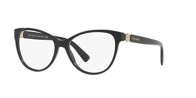 BV4151  Ver Espejuelos de ojo de gato Bulgari Black en LensCrafters b3d8b2d20af1