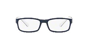 f615fbc6b87 PH2154  Shop Polo Ralph Lauren Black Rectangle Eyeglasses at ...