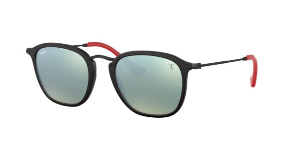 e7f44d4239b RB2448NM 51  Shop Ray Ban Black Square Sunglasses at LensCrafters
