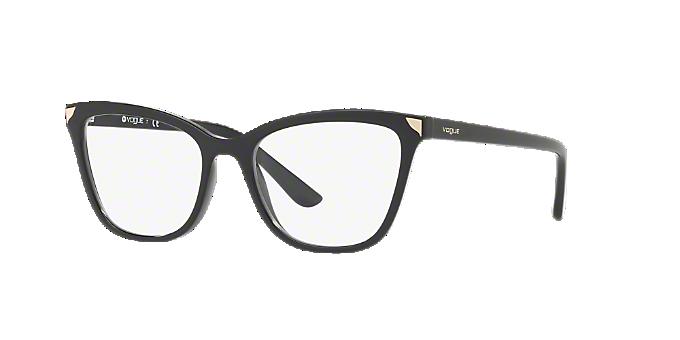 VO5206: Shop Vogue Black Cat Eye Eyeglasses at LensCrafters