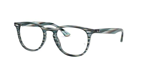 b39457a3a6a RX7159  Shop Ray-Ban Blue Square Eyeglasses at LensCrafters