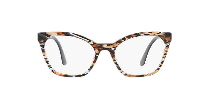 166895605a5 PR 09UV  Shop Prada Tortoise Geometric Eyeglasses at LensCrafters