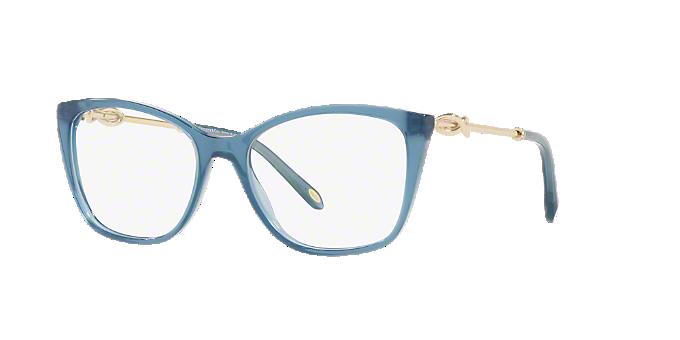 705715ef4cb8 TF2160B  Shop Tiffany Blue Square Eyeglasses at LensCrafters