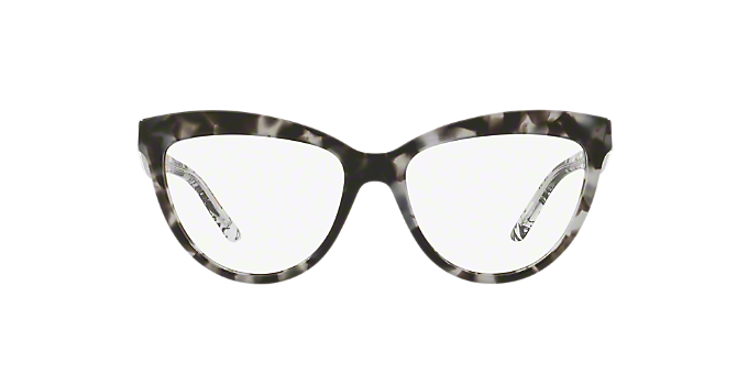 93b8740317 BE2276  Shop Burberry Silver Gunmetal Grey Cat Eye Eyeglasses at ...