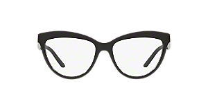 726094d38f64 BE2276: Shop Burberry Silver/Gunmetal/Grey Cat Eye Eyeglasses at ...