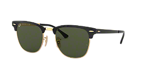 RB3716 51 CLUBMASTER METAL $163.00