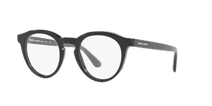 9405d12625 AR7159: Shop Giorgio Armani Black Panthos Eyeglasses at LensCrafters