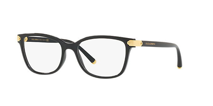 fa81ff566c8 DG5036  Shop Dolce   Gabbana Black Butterfly Eyeglasses at LensCrafters