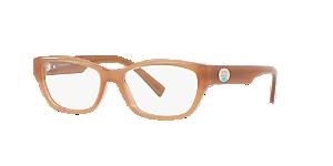 Tiffany Woman Tf2172 Brown, Tan Size: 50