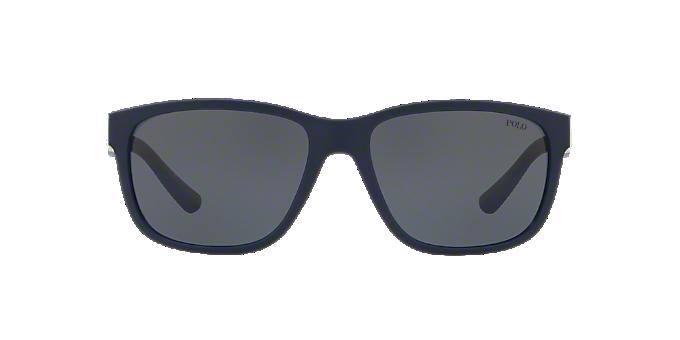 052ffbd8a949 PH4142 57: Shop Polo Ralph Lauren Blue Sunglasses at LensCrafters
