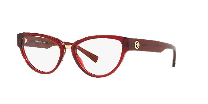 VE3267  Achetez Lunettes Versace de couleur Rouge bordeaux chez ... de5e7315df02