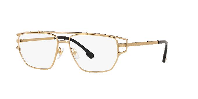 2399c920f6 VE1257  Shop Versace Gold Eyeglasses at LensCrafters