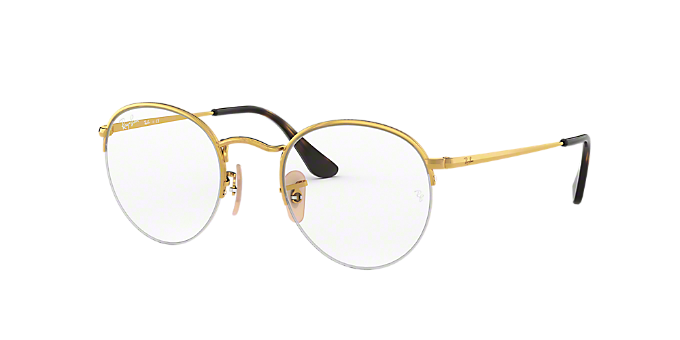 37313ffbab4 RX3947V  Shop Ray-Ban Gold Eyeglasses at LensCrafters