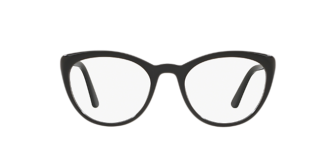 7fa7f68e56d8 PR 07VV  Shop Prada Black Eyeglasses at LensCrafters