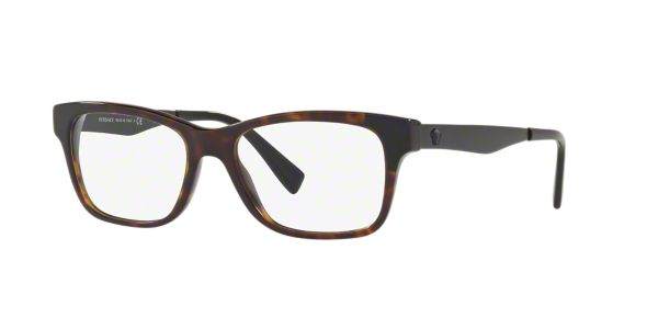 d0ef391711 VE3245  Shop Versace Tortoise Eyeglasses at LensCrafters