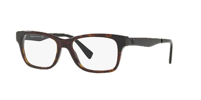 fa3924d4812 VE3245  Shop Versace Tortoise Eyeglasses at LensCrafters
