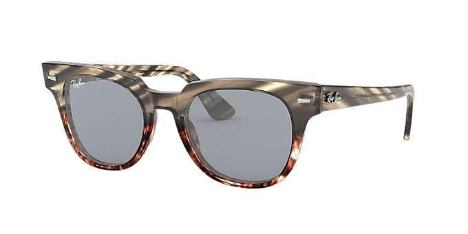 0eceefaa0fc RB2168 50 METEOR  Shop Ray-Ban Silver Gunmetal Grey Sunglasses at ...