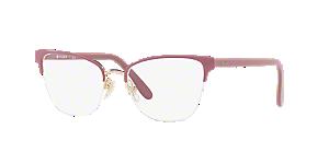 Vogue Unisex Vo4120 Pink, Purple Size: 53