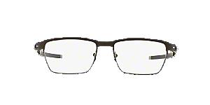 1ddb9f6b29d0a OX5099 TINCUP 0.5 TI  Shop Oakley Silver Gunmetal Grey Rectangle ...