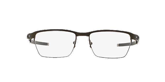 OX5099 TINCUP 0.5 TI  Shop Oakley Silver Gunmetal Grey Rectangle Eyeglasses  at LensCrafters 4afa5db74e87