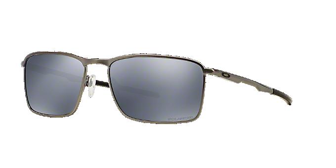 OO4106 58 CONDUCTOR 6: Shop Oakley Silver/Gunmetal/Grey Rectangle ...