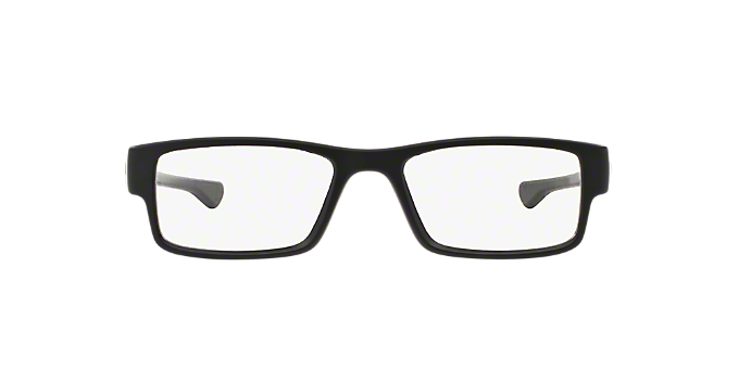 0989fd26af8 OX8046 AIRDROP  Shop Oakley Black Rectangle Eyeglasses at LensCrafters