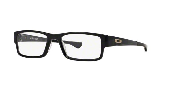 2033e41d65 OX8046 AIRDROP  Shop Oakley Black Rectangle Eyeglasses at LensCrafters