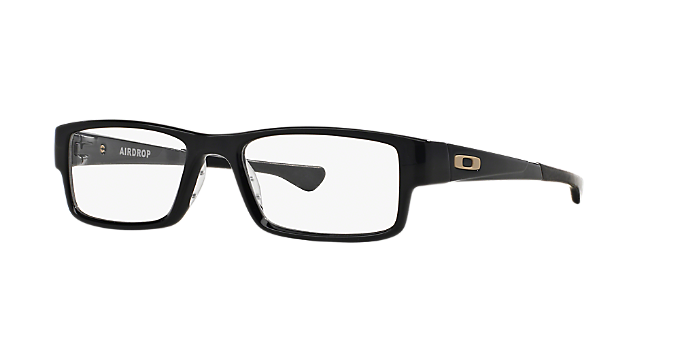 5bf297e64f2 OX8046 AIRDROP  Shop Oakley Black Rectangle Eyeglasses at LensCrafters