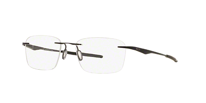 d0b3fd0fd473bf OX5115 WINGFOLD EVS  Shop Oakley Black Rectangle Eyeglasses at ...