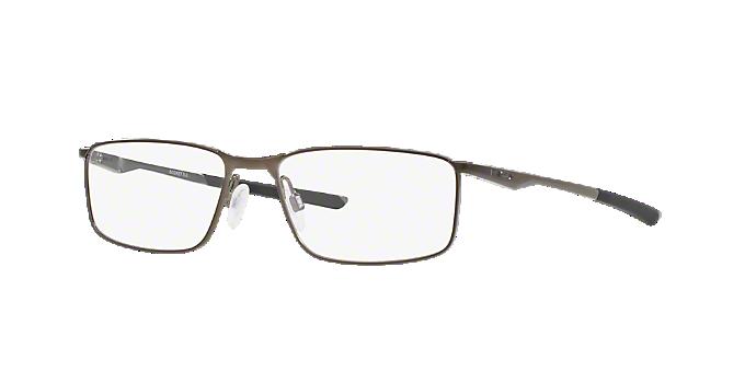 fcfcb65e0b OX3217 Socket 5.0  Shop Oakley Silver Gunmetal Grey Rectangle ...