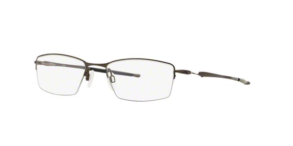 c900cc0fc0 OX5113 LIZARD  Shop Oakley Silver Gunmetal Grey Rectangle Eyeglasses at  LensCrafters