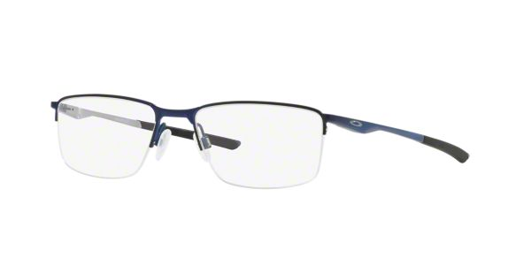 f3b3ab117e OX3218 SOCKET 5.5: Shop Oakley Blue Rectangle Eyeglasses at LensCrafters