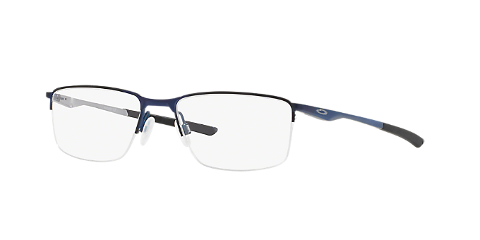5fedfb31b7d OX3218 Socket 5.5  Shop Oakley Blue Rectangle Eyeglasses at LensCrafters